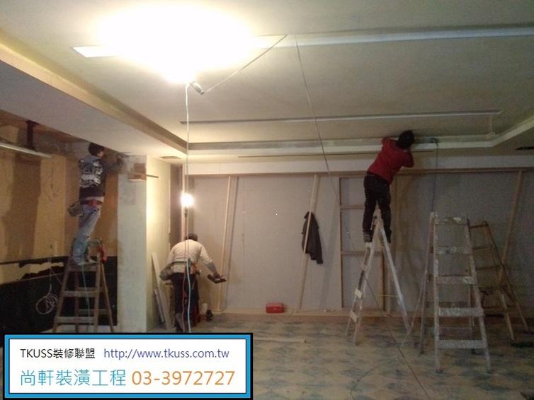 tkuss室内装修工程联盟 商办统包工程承揽--木作施工