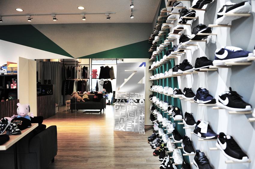 法萊空間設計 潮牌店面 -幸福裝修
